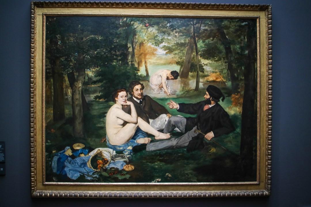 Colazione sull'erba, Manet, Museo d'Orsay