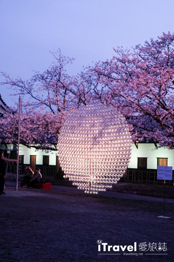 賞櫻景點 福岡城夜櫻 (45)