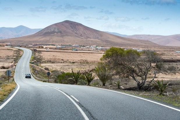 Carreteras de Fuerteventura