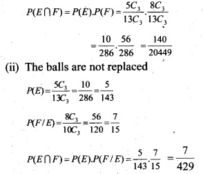 Plus Two Maths Chapter Wise Questions and Answers Chapter 13 Probability 25