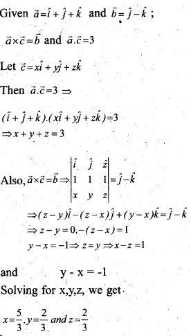 Plus Two Maths Chapter Wise Questions and Answers Chapter 10 Vector Algebra 33