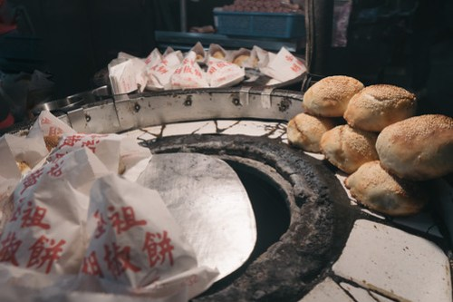 Pepper buns @ Shilin Night Market