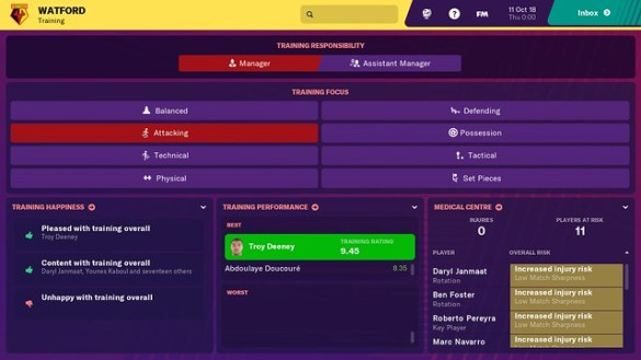 Football Manager 2019 Touch - Switch