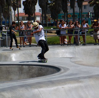 Skateboarder, Venice Beach