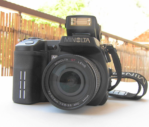digital minolta a1 dimage advanced minoltadimagea1... (Photo: brian395 on Flickr)