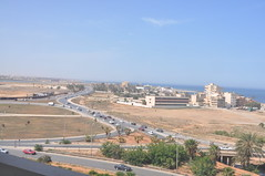 Benghazi Roads and skyline