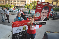 Muslim Brotherhood's Mohamed Morsi Announced Egypt's President