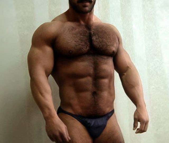 Hairy Muscles Face Sexy