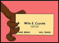 Genius - Wile E. Coyote - Chuck Jones