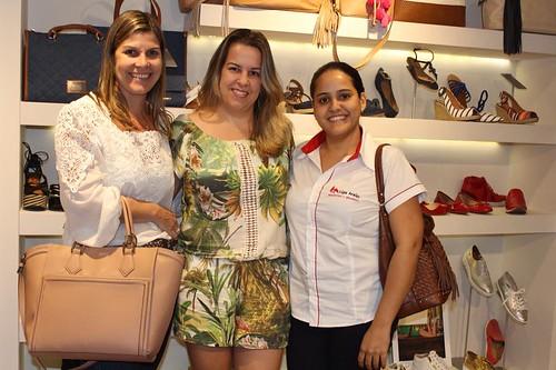 Lígia Araújo, Fernanda Azevedo e amiga