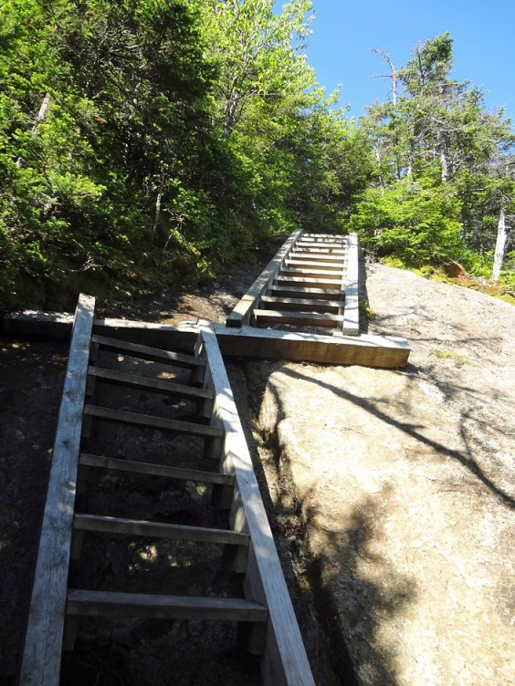 AT Ladders on Goose Eye Mountain