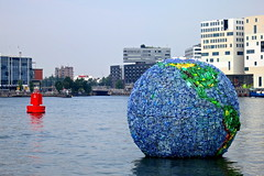 'Wereld van zwerfvuil' Amsterdam