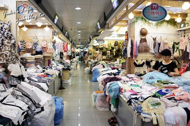 [韓國‧首爾行2+1]。25┃南大門市場┃小飾品,童裝批發,尋寶的最佳去處 - Yuki's Life