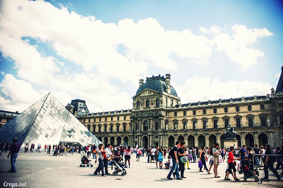 2016.09.04 | 看我的歐行腿| 法國巴黎羅浮宮,金屋藏嬌裡的那抹淺淺微笑 05