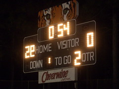 Scoreboard at South View