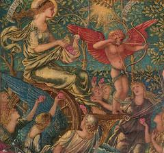 Burne-Jones 'Laus Veneris' (detail) 1873-78