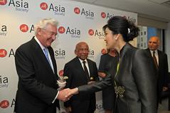 Thai PM Shinawatra at Asia Society 5