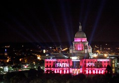 State House in Pink