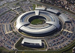 GCHQ Building at Cheltenham, Gloucestershire