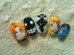 "Anime Fingernails 7 • <a style=""font-size:0.8em;"" href=""http://www.flickr.com/photos/66379360@N02/8439827589/"" target=""_blank"">View on Flickr</a>"