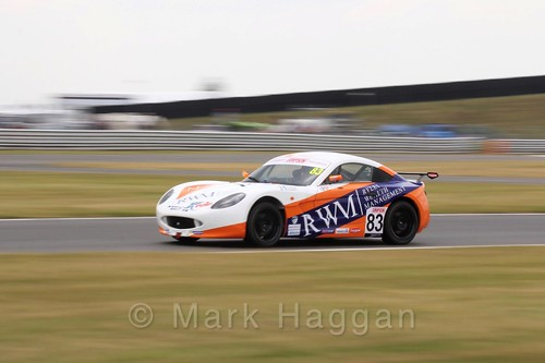 Kyle Hornby in Ginetta Junior Racing during the BTCC 2016 Weekend at Snetterton