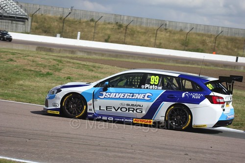 Jason Plato at Rockingham, August 2016