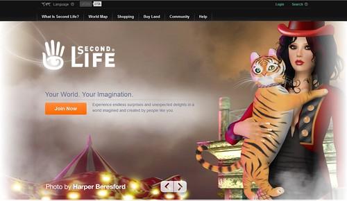 SL Splash Page