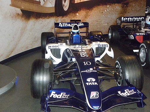 Jenson Button's FW22 from 2000