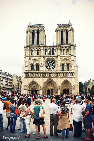 2016.10.02   看我的歐行腿  法國巴黎一日雙聖,在聖心堂與聖母院看見巴黎人的兩樣情 16