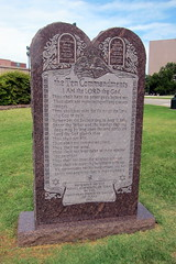 Austin - Texas State Capitol: The Ten Commandments