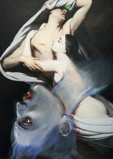 "Art from Enki Bilal's ""Ghosts of the Louv..."