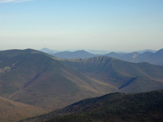 The New Hampshire Appalachian Trail View of Bondcliff from Mt. Lafayette