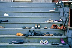 Shoes on Steps