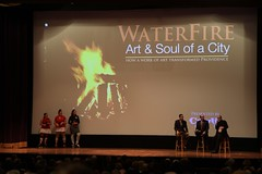 Roller Derby Girls Promote the DVD release of WaterFire: Art & Soul of City