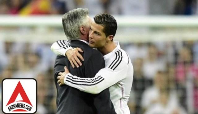 #Bola: Ancelotti Jagokan Ronaldo Sabet Top Skor La Liga