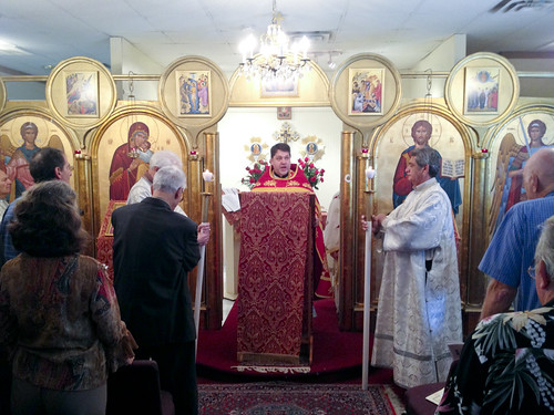 """Father Soroka celebrates the Divine Liturgy • <a style=""""font-size:0.8em;"""" href=""""http://www.flickr.com/photos/72479515@N06/8283526894/"""" target=""""_blank"""">View on Flickr</a>"""