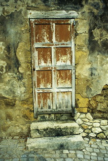 Old Door - Saint-Emilion, France