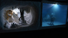 """Wampa Cave diorama • <a style=""""font-size:0.8em;"""" href=""""http://www.flickr.com/photos/86825788@N06/8361600319/"""" target=""""_blank"""">View on Flickr</a>"""