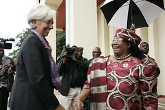 2013 IMF Managing Director Christine Lagarde v...