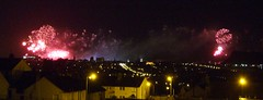 Edinburgh: New Year fireworks 2013