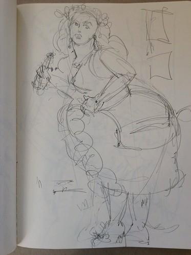 Amber ray-dr. sketchy-pulp fiction-art