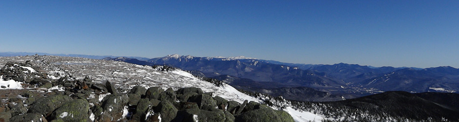 Mt Moosilauke Winter Panoramic Of The Appalachian Trail