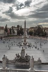 Piazza del Popolo - Rome (Mars 2013)