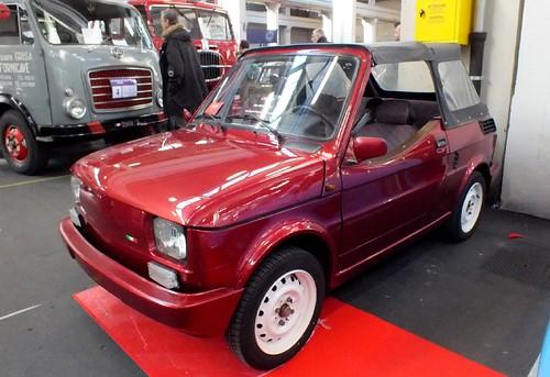 Polsky-Fiat 126 cabriolet