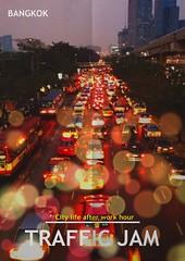 Traffic Jam at Bangkok