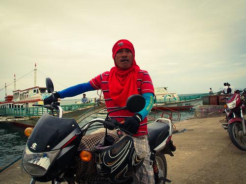 motorbike guy by sobermusings, on Flickr