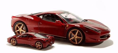 Mettel Hot Wheels Ferrari 458 Italia China edition