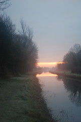 Sunrise - Feb 26th 2013 - at Shee Bridge on th...
