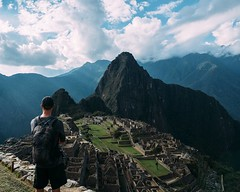 Day 510. Machu Picchu. It took two attempts for @julianpozzi and I to get there. We followed bad advice Wednesday, driving to the park and arriving too late to get in. Thursday though we were on the first train out of Cusco and walking through the park by