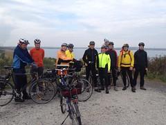 Radtour - Rast am Störmthaler See